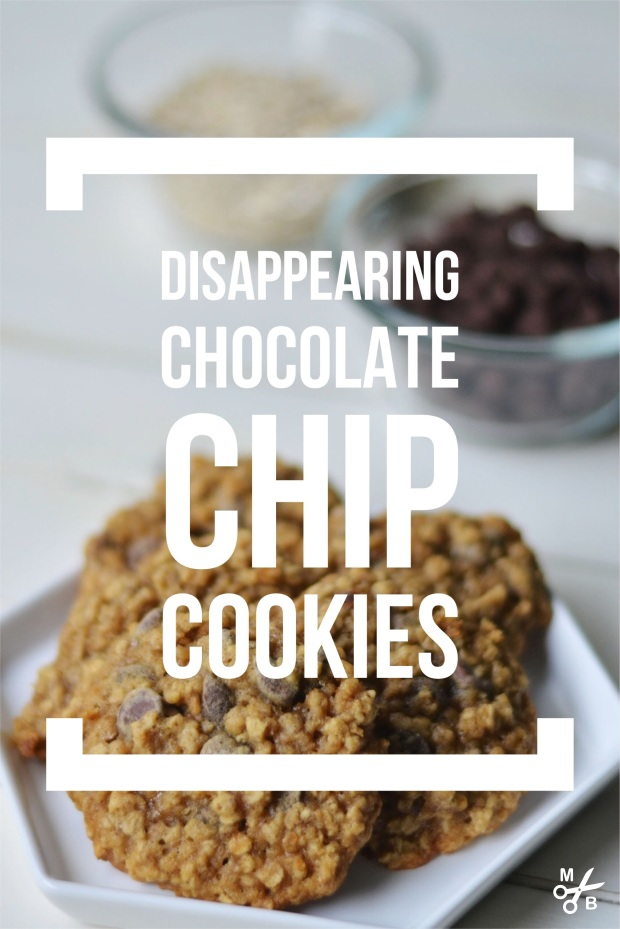 Recipe: Disappearing Oatmeal Chocolate Chip Cookies | Minted Bold