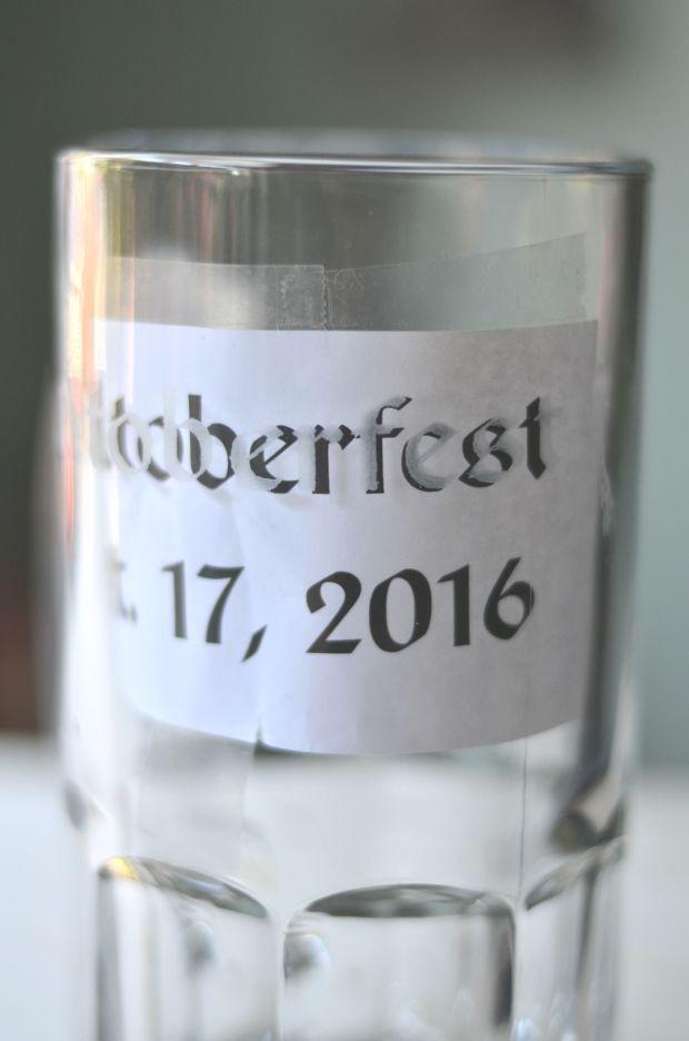 Etched Beer Mug   Minted Bold