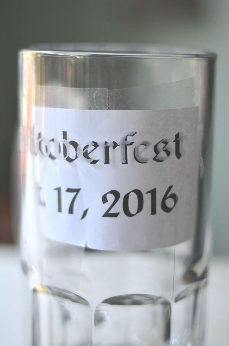 Etched Beer Mug | Minted Bold