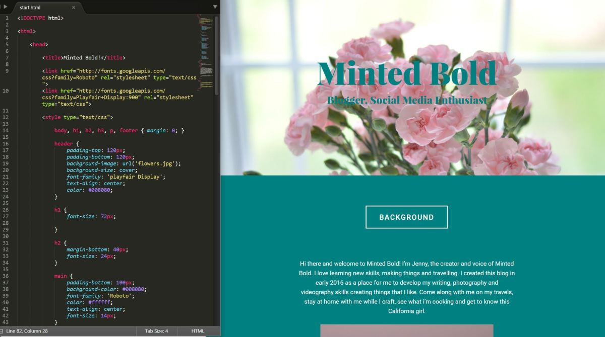 I learned to code! – Minted Bold