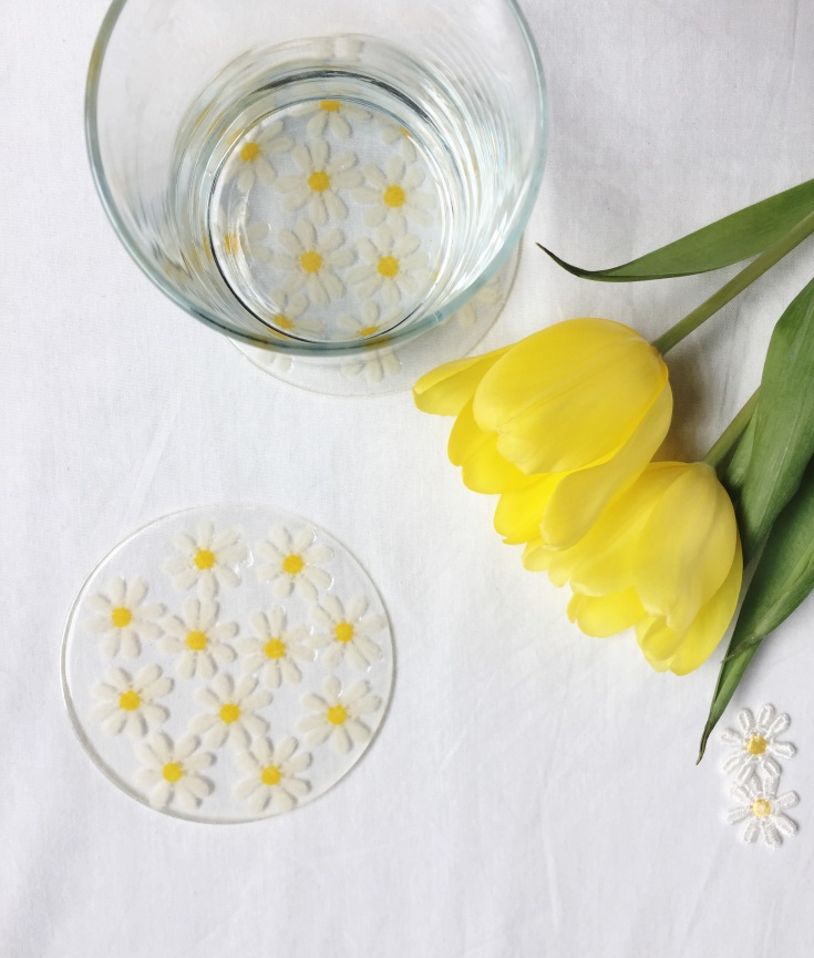 DIY Daisy Coaster Perfect for Spring! | Minted Bold