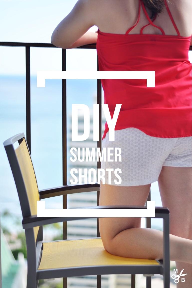 DIY Summer Shorts | Minted Bold
