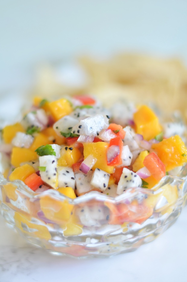 Dragon Fruit Mango Salsa | Minted Bold
