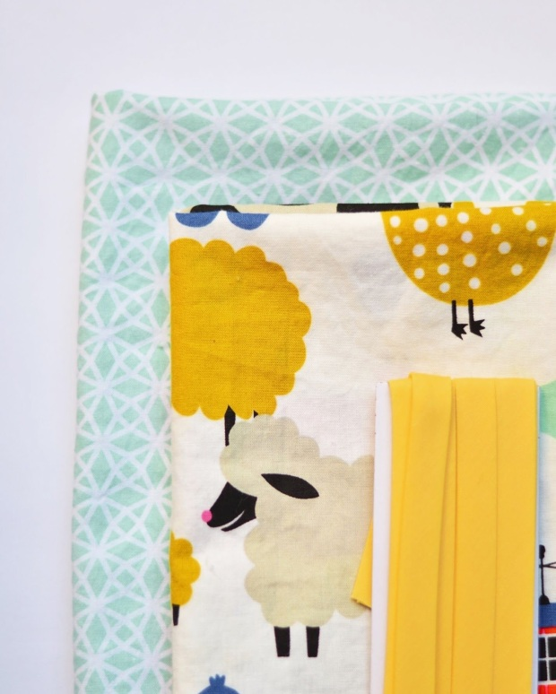 DIY Baby Play Mat | Minted Bold