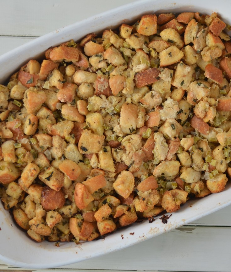 Fresh Herb Bread Stuffing | Minted Bold