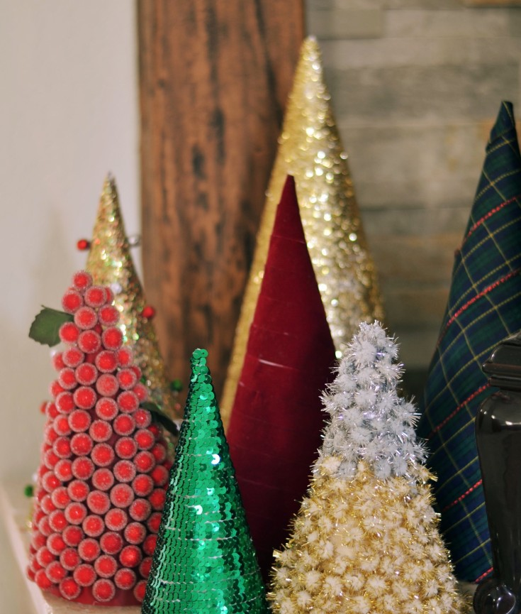 DIY Cone Trees | Minted Bold