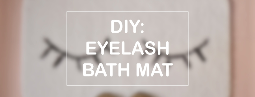 DIY EYELASH BATH MAT | MINTED BOLD