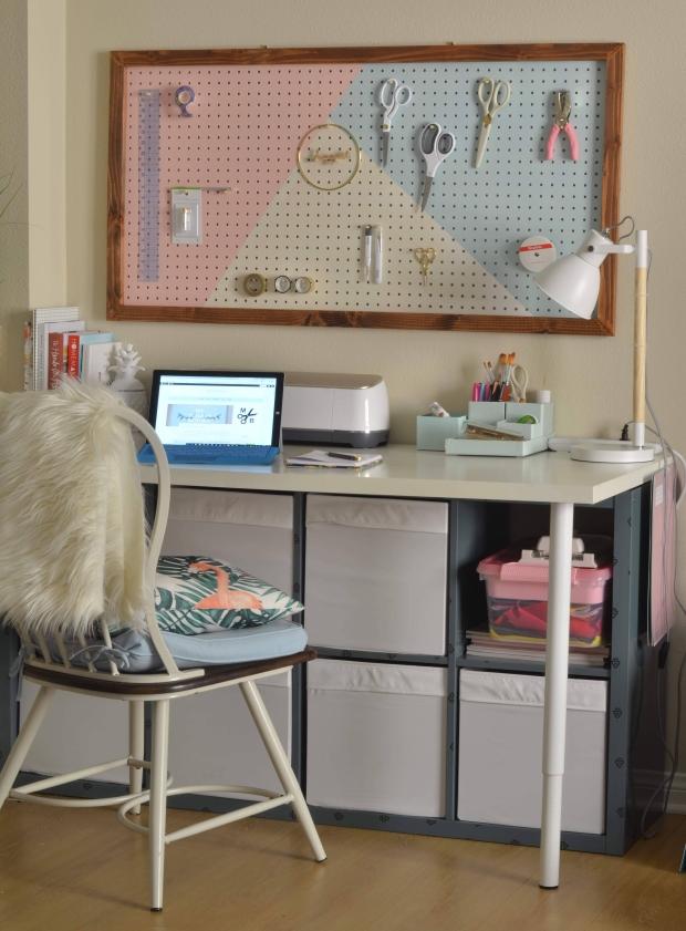 Minted Bold   Craft Desk