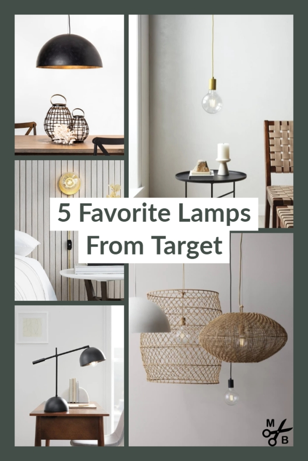 My 5 Favorite Target Lamps | Minted Bold